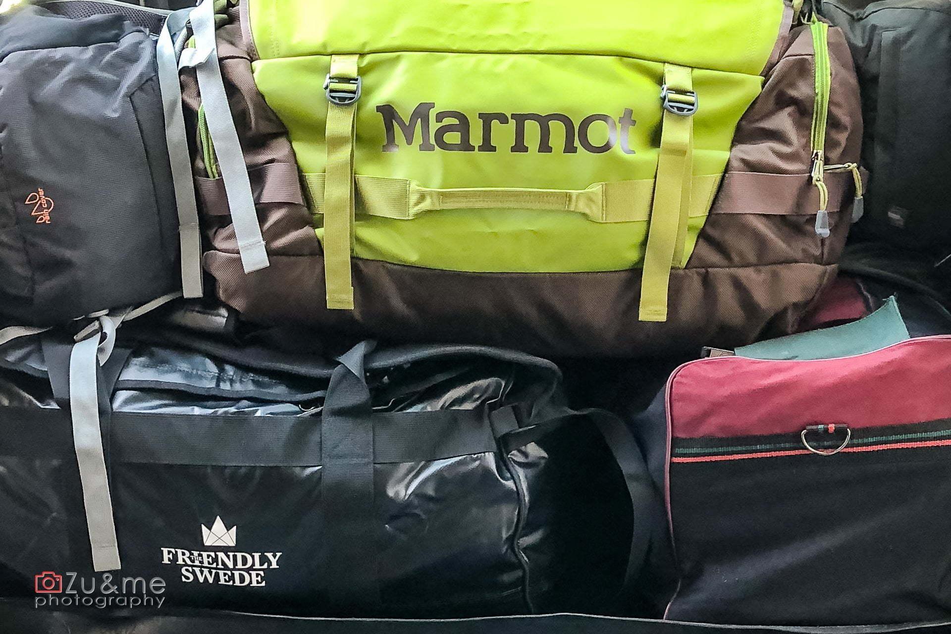jak się spakowac do namibii i botswany - nasz bagaż