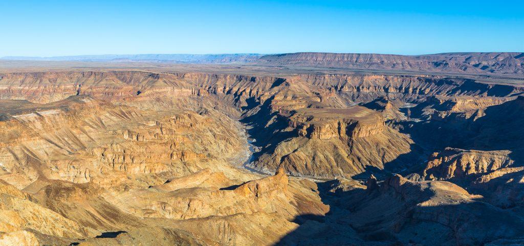 Fish river canyon - Diabelski zakręt